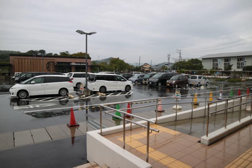 静岡県藤枝市蓮華寺池公園第2駐車場