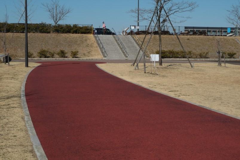 栃木県足利市五十部公園と五十部運動公園の境界部分