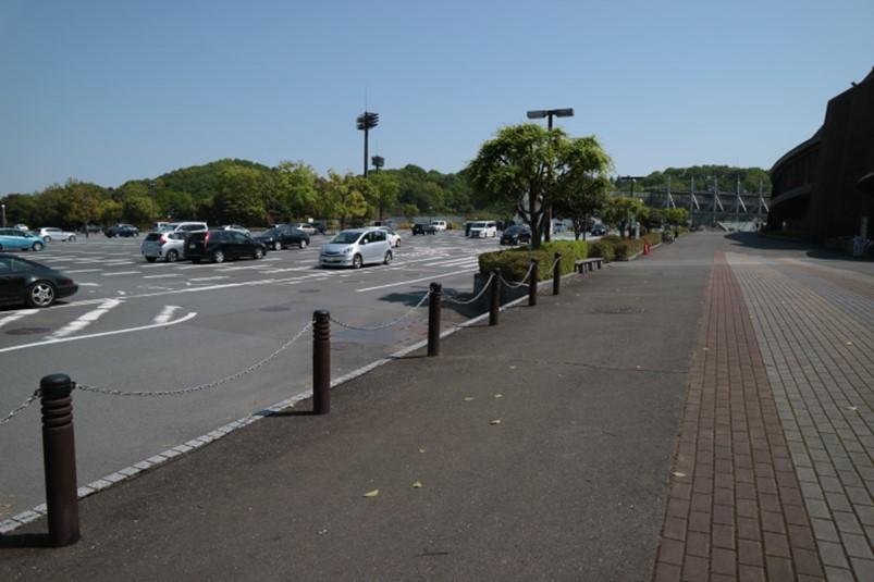 あつぎこどものもり公園利用時も使える荻野運動公園駐車場