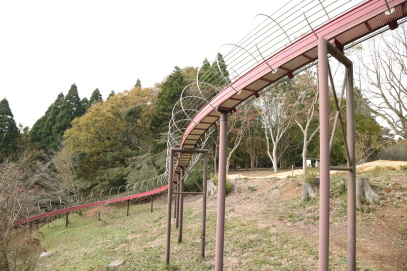千葉市昭和の森の千葉県最長ローラースライダー