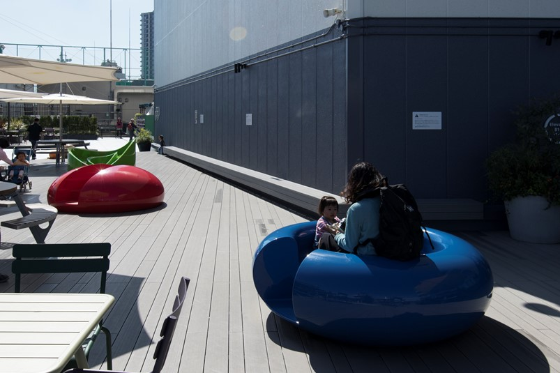 食と緑の空中庭園 オブジェ系遊具の例