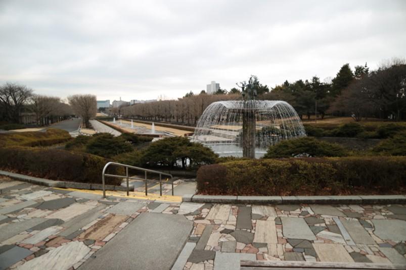 国営昭和記念公園の大噴水