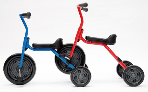 ジャクエツの三輪車