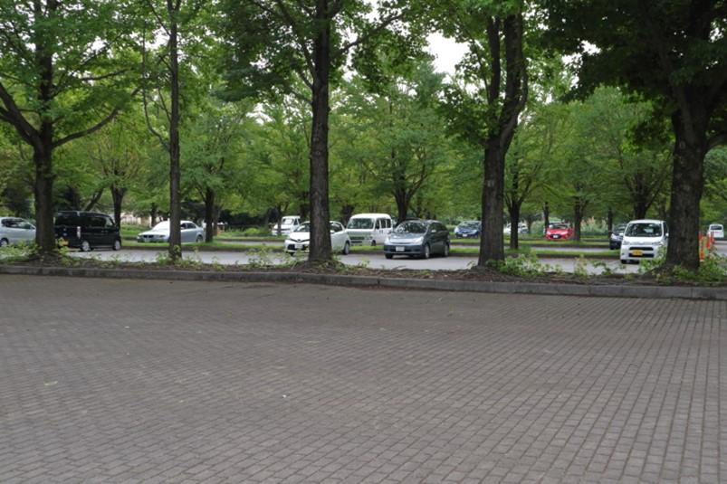 壬生町駐車場その1(南側入り口160台)