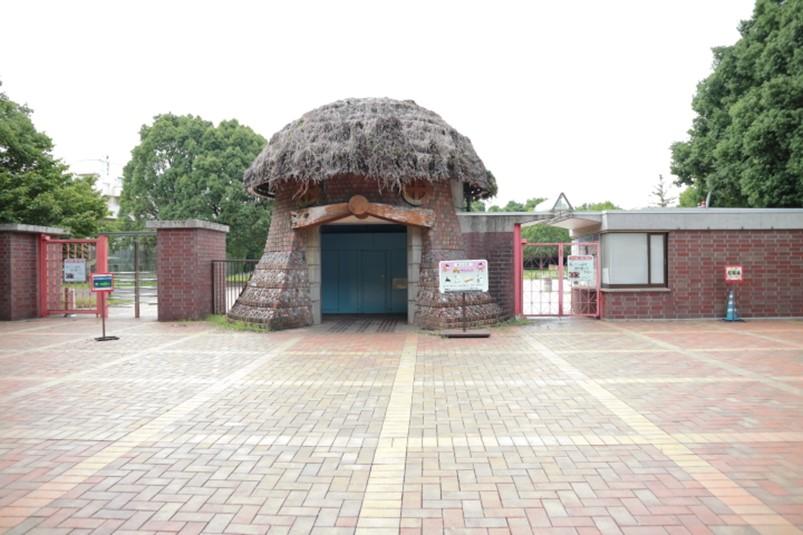 栃木県壬生町とちぎわんぱく公園東門