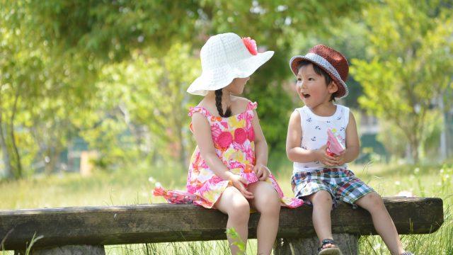 子ども同士の会話の様子