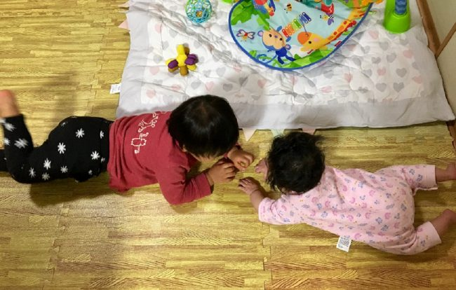 イライラしないワンオペ2歳差育児 2歳0歳 兄妹 仲良し かわいい 可愛い