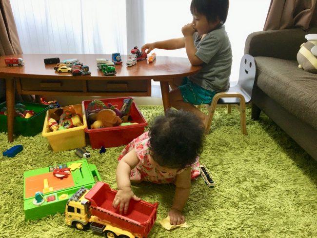 イライラしないワンオペ2歳差育児 やめた当たり前の家事 部屋の片づけ