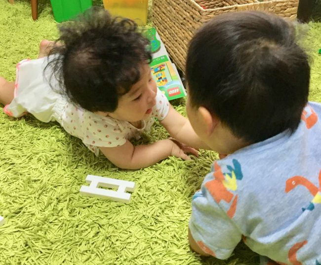 イライラしないワンオペ2歳差育児 2歳0歳 兄妹 保育園 日常 仲良し 可愛い かわいい