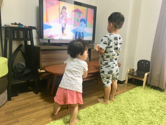 イライラしないワンオペ2歳差育児 2歳0歳 テレビ 兄妹 上の子 下の子