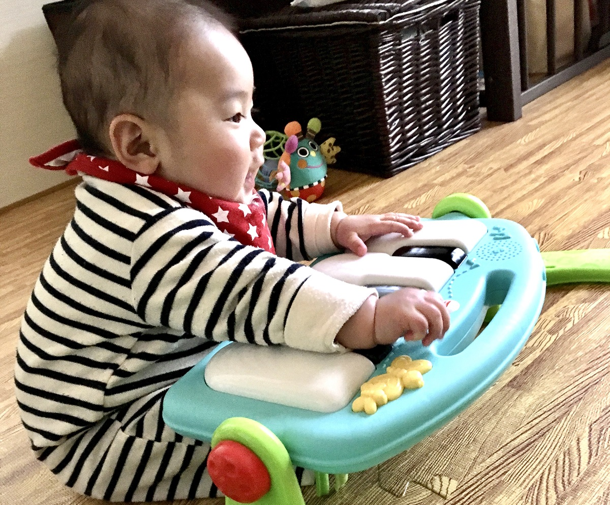 ワンオペ二人目育児の必需品 あると便利な育児グッズ フィッシャープライス プレイジム 2歳差育児 2歳0歳