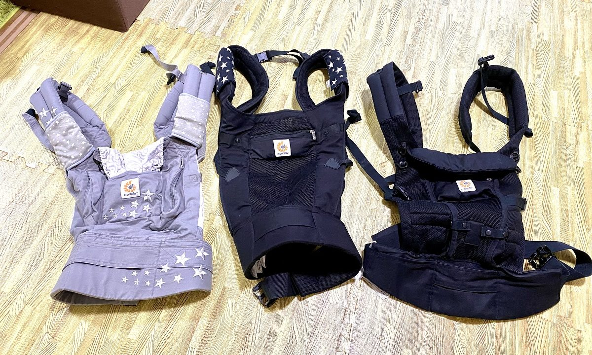 ワンオペ 二人目育児 お出かけの必需品 抱っこ紐 エルゴ あると便利な育児グッズ