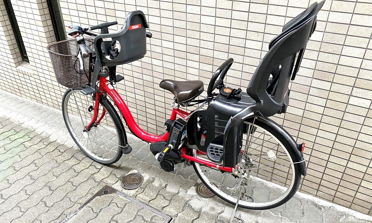 ワンオペ二人目育児の必需品 あると便利な育児グッズ お出かけ 電動アシスト自転車 ヤマハ 子供乗せ付き