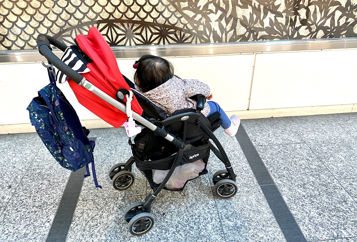 ワンオペ二人目育児の必需品 あると便利な育児グッズ お出かけ AB型ベビーカー アップリカ