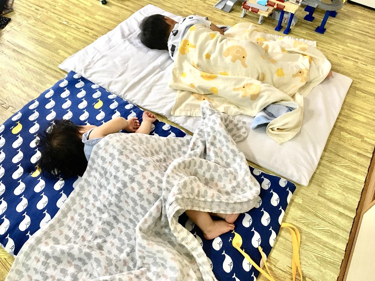 ワンオペ二人目育児の必需品 お昼寝 2歳差育児 3歳1歳 兄妹