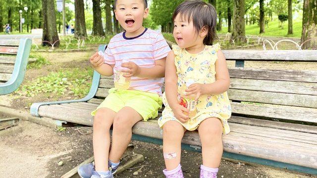 二人目育児が楽だと感じる7つの場面 3歳の息子と1歳の娘